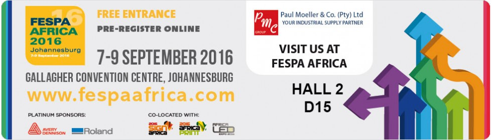 Pre-register for FESPA Africa 2016
