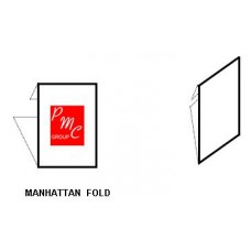 Manhattan Fold Label